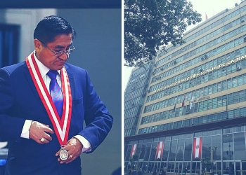 Fiscal dicta impedimento de salida del país contra juez supremo César Hinostroza