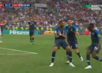 Kylian Mbappé y un gran gol