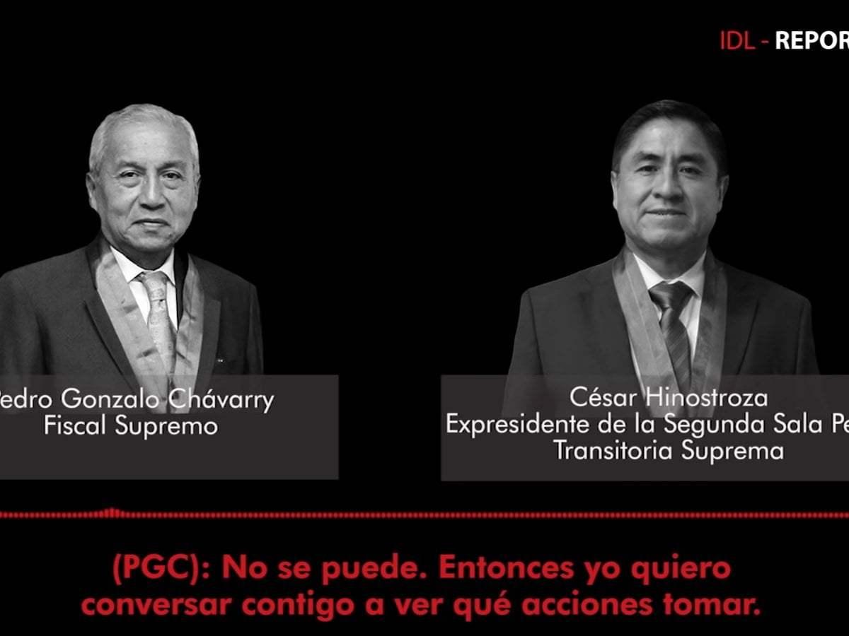Nuevo audio entre nuevo Fiscal de la Nación y César Hinostroza