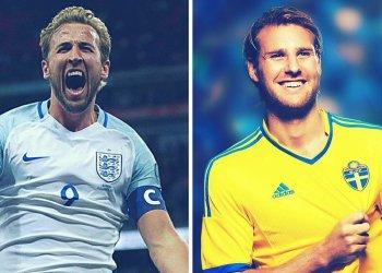 Ver EN VIVO Inglaterra vs. Suecia por cuartos de final del Mundial Rusia 2018