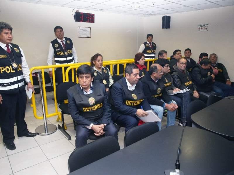 DICTAN PRISIÓN PREVENTIVA CONTRA CAMAYO, CAVASSA Y OTROS 11 INVESTIGADOS POR CASO 'LOS CUELLOS BLANCOS DEL PUERTO'