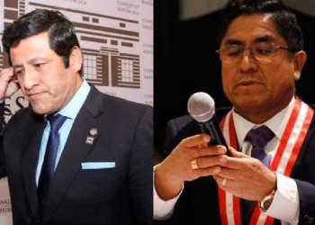 Guido Aguila pidió a César Hinostroza contratar a su cuñada en el Callao