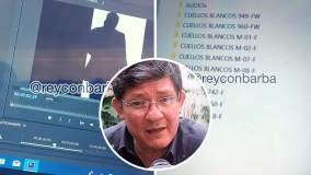 José Barba asegura tener todos los audios de la corrupción judicial