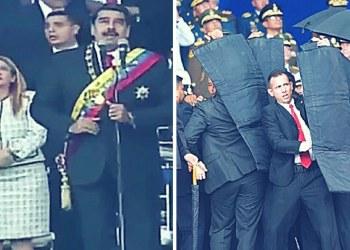 Nicolás Maduro salva de fallido atentado en Caracas