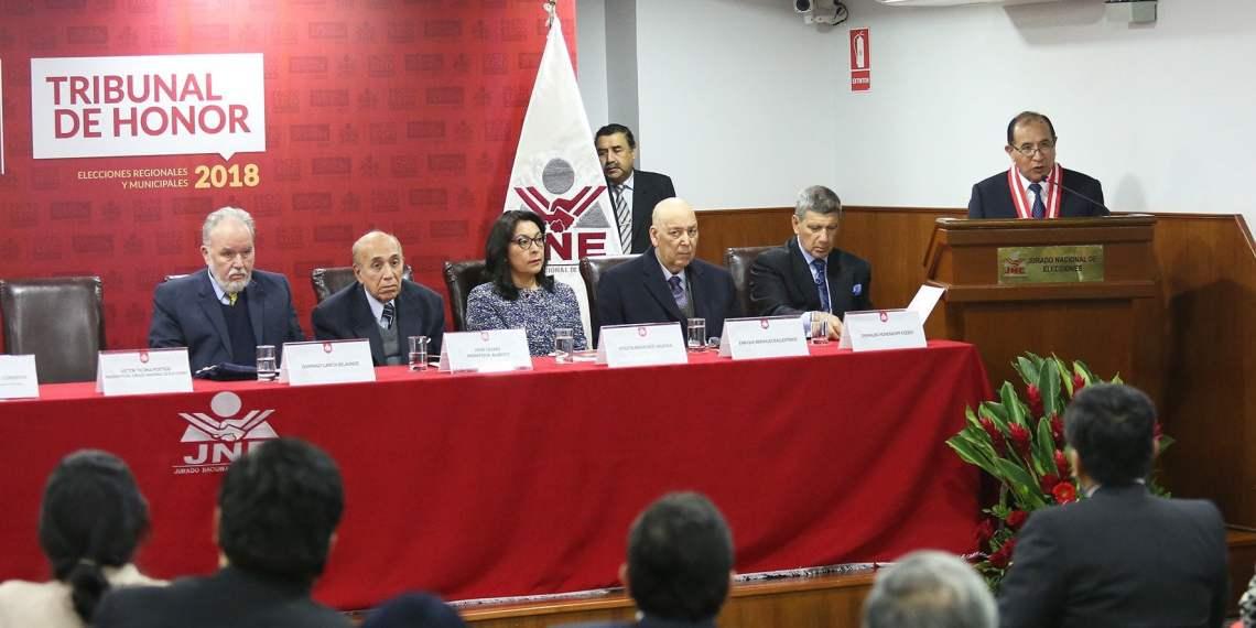 Tribunal de Honor del Pacto Ético Electoral