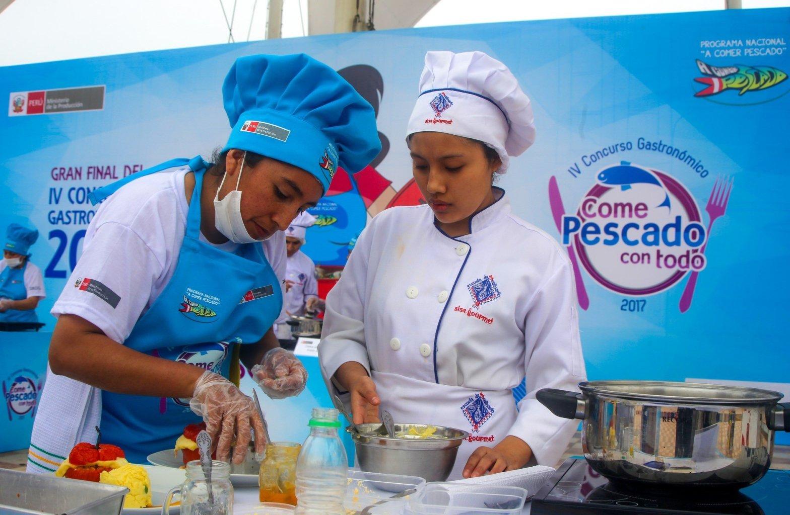 Buscan al mejor cocinero de pescado y pota del Perú
