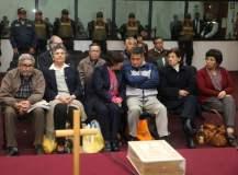Cabecillas terroristas Abimael Guzmán, Elena Iparraguirre y otros condenados a cadena perpetua