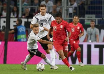 La Selección Peruana cae 2-1 ante Alemania