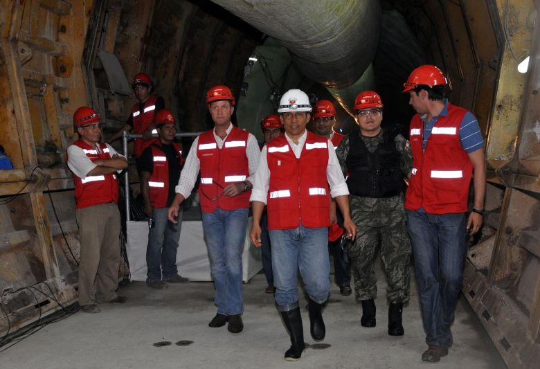 Ollanta Humala y Jorge Barata