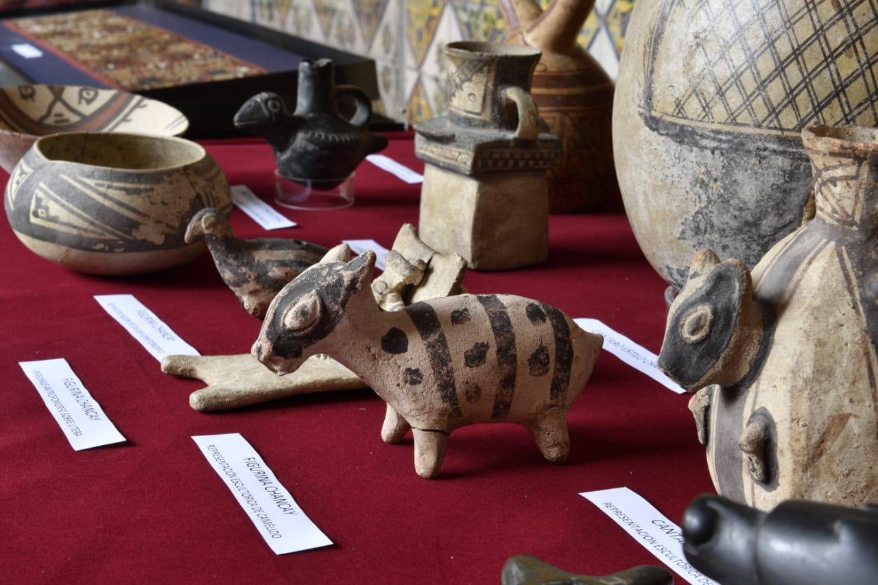 Presentan más de 1700 bienes culturales recuperados en el exterior