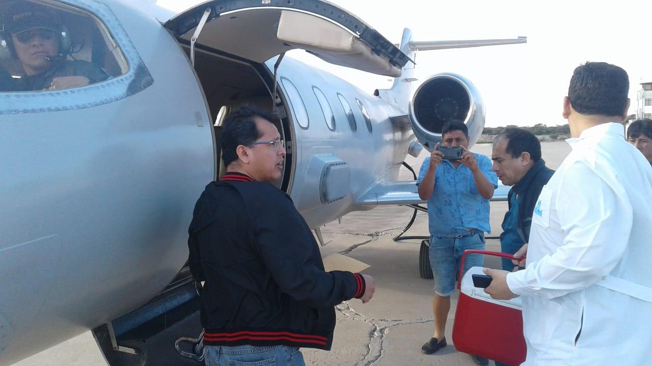 Aeronaves de la FAP trasladan a Lima tres órganos para salvar vidas