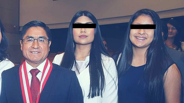 Hija de César Hinostroza intentó salir del país pero Migraciones la intervino