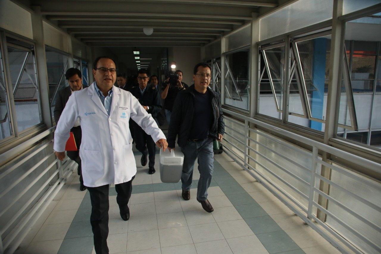 Médicos de EsSalud trasplantan corazón donado a paciente en 'lista de espera' hace más de un año
