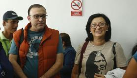 Pier Figari y Ana Vega detenidos