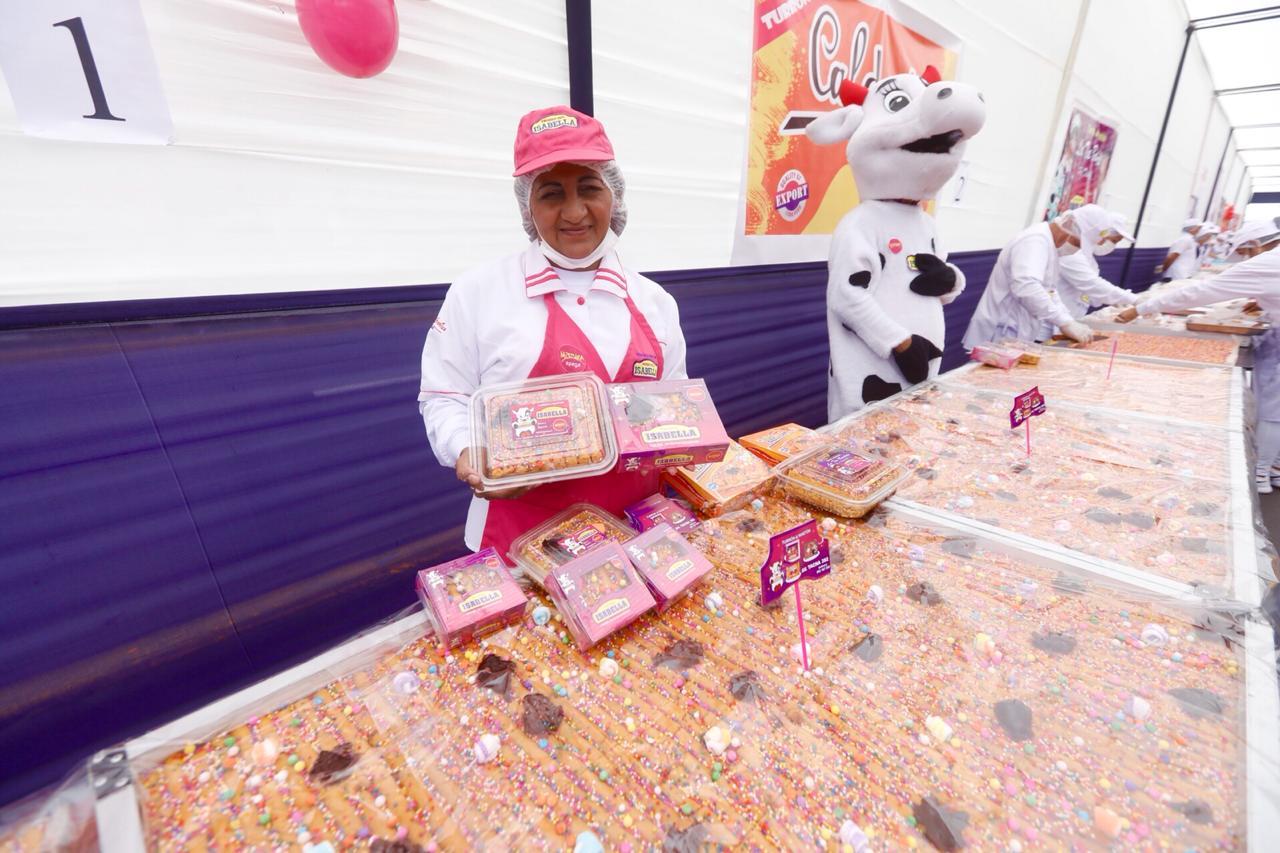El turrón más delicioso del Perú fue premiado por el Municipio de Lima