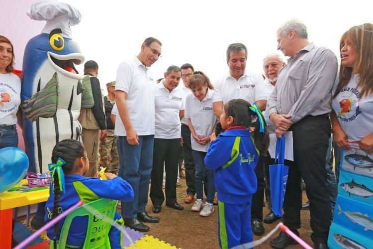 Martín Vizcarra lanza campaña contra la anemia e invoca a la unidad