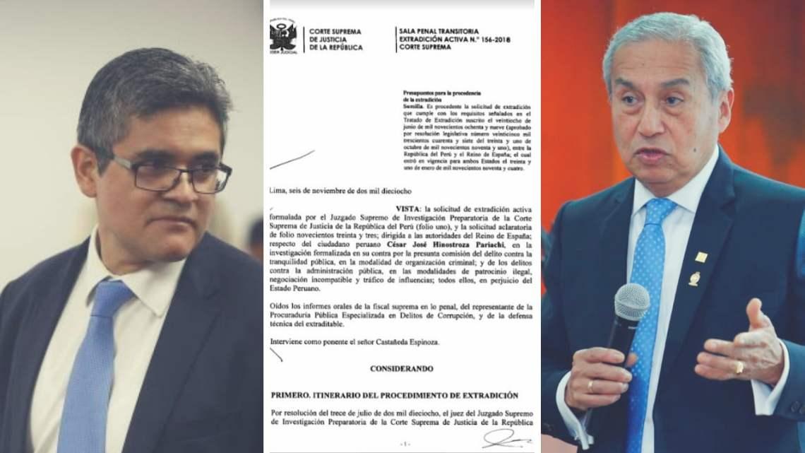 Fiscal Pedro Chávarry abre proceso interno contra José Domingo Pérez