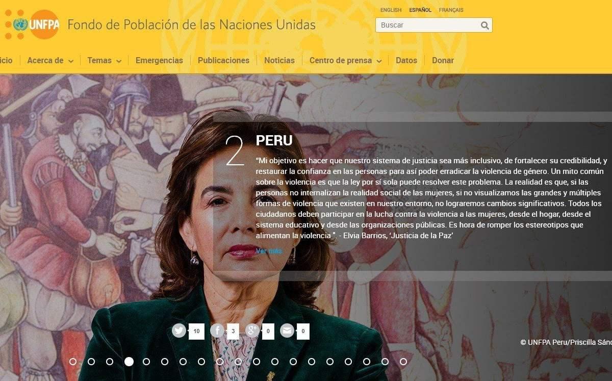 Jueza Elvia Barrios entre activistas más influyentes contra la violencia de género