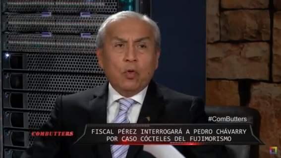 Pedro Chávarry en Willax