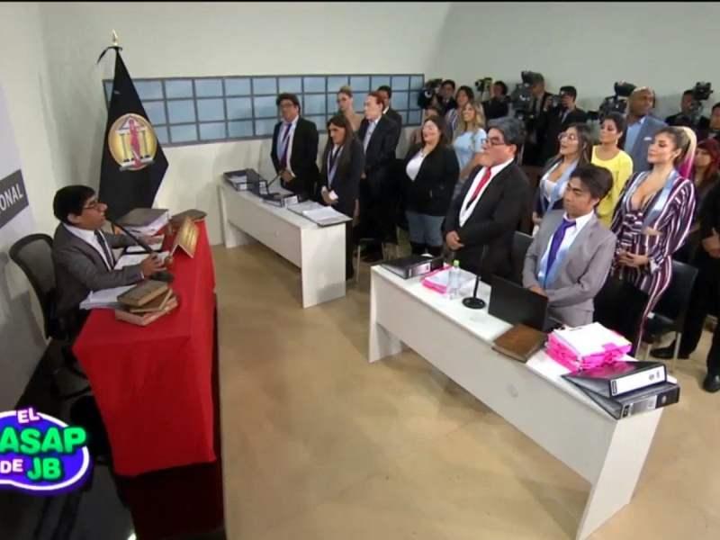 Wasap de JB y la audiencia de Keiko Fujimori