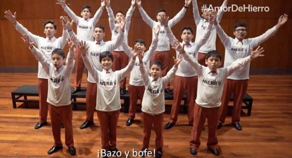 Los Toribianitos cambian la letra de villancico por lucha contra la anemia