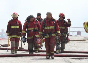 Bomberos afectados por mala compra de respiradores