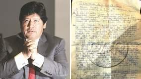 Edwin Oviedo se negó a ser colaborador eficaz y denuncia que lo presionan