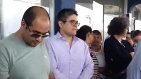 Fiscal José Domingo Pérez fue a votar y fue recibido con aplausos y vivas