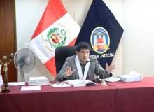 "Juez Concepción Carhuancho sobre llamadas a Oviedo: ""Es totalmente falso"""
