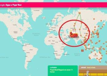 Papa Noel EN VIVO recorre el mundo