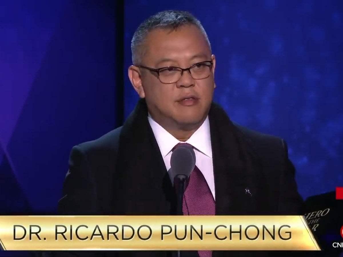 Médico peruano Ricardo Pun Chong ganó concurso 'Héroes' de CNN