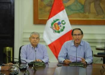 Presidente Martín Vizcarra pide declarar en emergencia el Ministerio Público