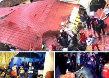 Apurímac Caída de pared durante boda en hotel deja 15 muertos