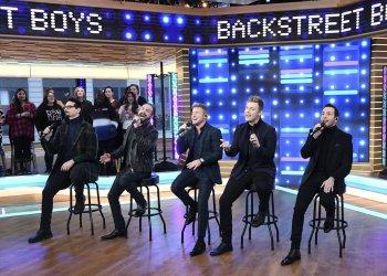 Backstreet Boys cantan en vivo y sin playback en la TV americana (Foto Twitter ABC/Paula Lobo)