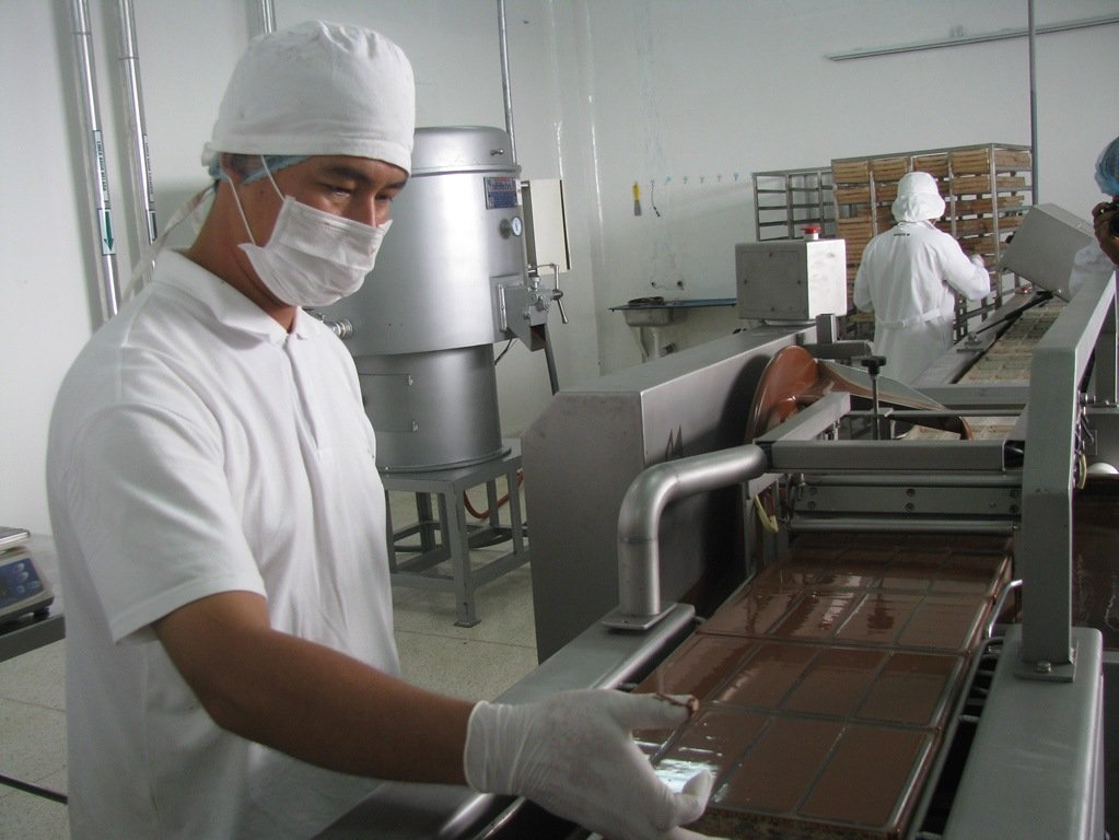 Chocolate en proceso desde Adex