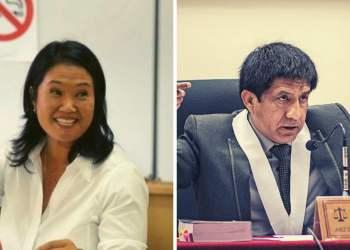 Juez Richard Concepción es apartado del caso Keiko Fujimori