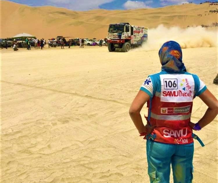 SAMU brinda atenciones durante el Rally Dakar 2019