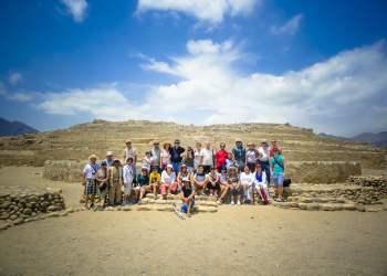 Visita Caral, cuna de la civilización de América en el Perú