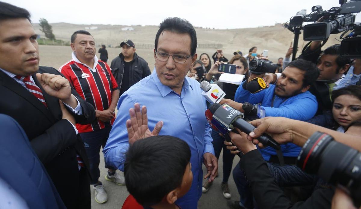 Félix Moreno recibió sobornos dice ex apoderado de Odebrecht