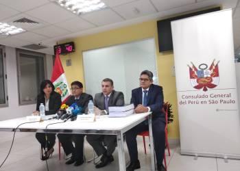 Fiscales y procurador del caso Lava Jato (Fotos y videos Convoca)
