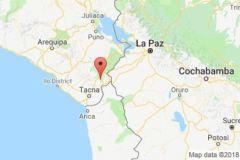 Sismo de 6.3 grados se registró Tacna y sacude el sur del Perú