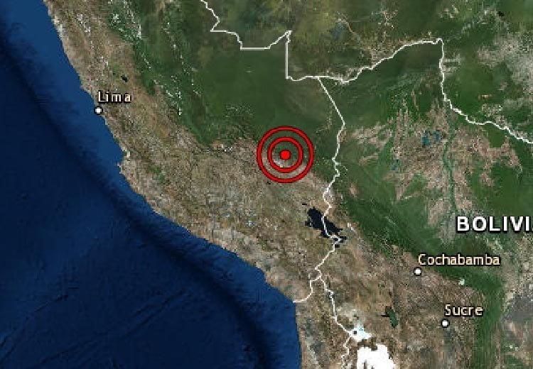 Terremoto de magnitud 7,0 sacude el sureste de Perú