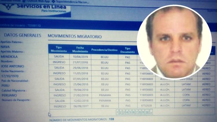 Hijo de exsecretario de Alan García salió del país ad portas de pedido fiscal