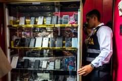 Policía incautó 2,491 celulares robados a nivel nacional en tres meses
