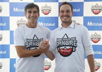 """George Forsyth y Óscar Ibáñez apoyan """"hinchas de sangre"""" para salvar vidas"""