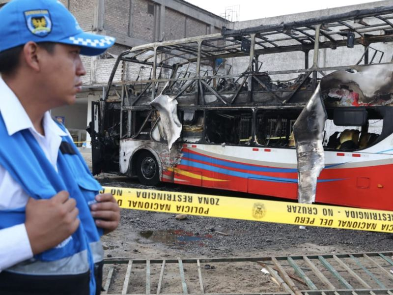Incendio en Fiori: Fiscalía difunde identidad de fallecidos en bus