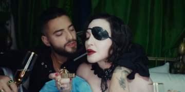 Madonna reaparece en YouTube y estrena Medellín con Maluma