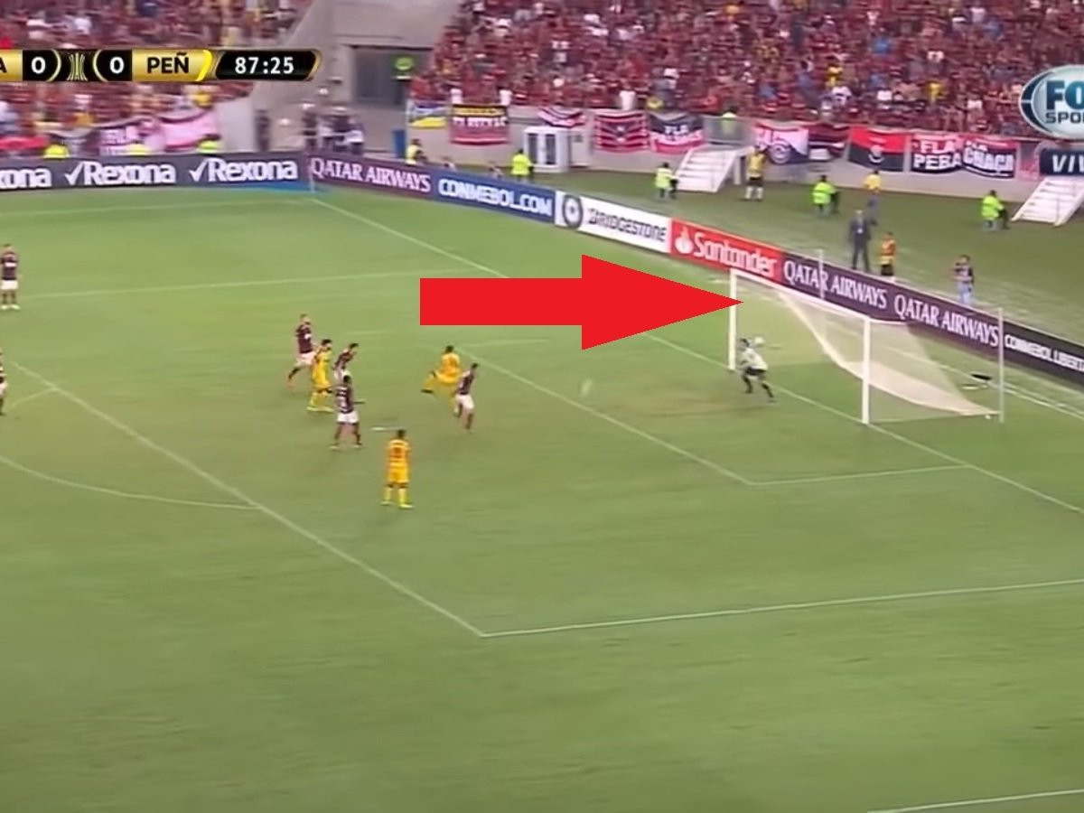 Maracanazo: Mira el gol de Peñarol que derrotó 1-0 al Flamengo