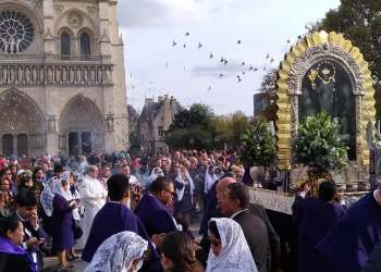 Señor de los Milagros no estuvo en siniestrada Catedral de Notre Dame