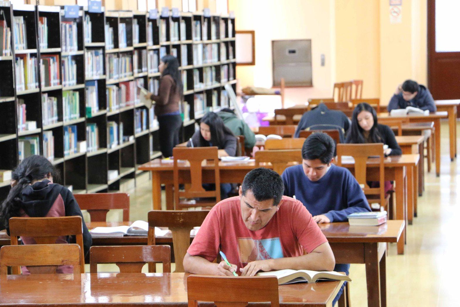 Biblioteca Pública de Lima atendió a 80 mil usuarios en trimestre 2019